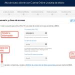 Abrir cuenta BBVA paso 4: Acceso a tu cuenta