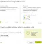 Formulario de registro con Bankia paso 8