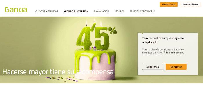 Opiniones de los productos de inversion de Bankia
