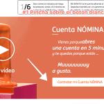 Abrir una cuenta nómina ING: haz clic sobre el botón