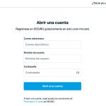 Abrir una cuenta con Degiro paso 2