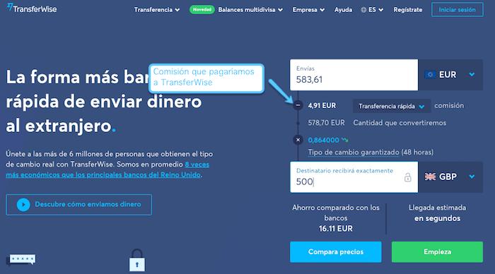 Paga menos en comisiones con XTB al usar TransferWise