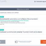 Solicitar un crédito con Younited Credit, paso 3