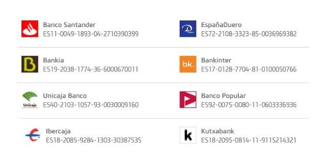 Bancos que colaboran con Vivus