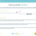 Pasos para solicitar un préstamo con Creditea paso 6