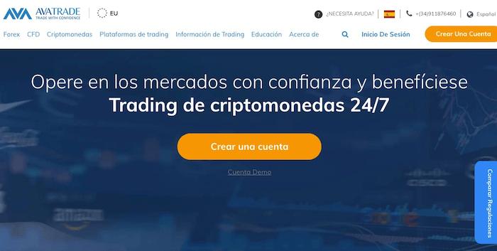El broker online de AvaTrade