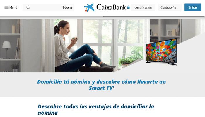 Características de la Cuenta Nómina de CaixaBank