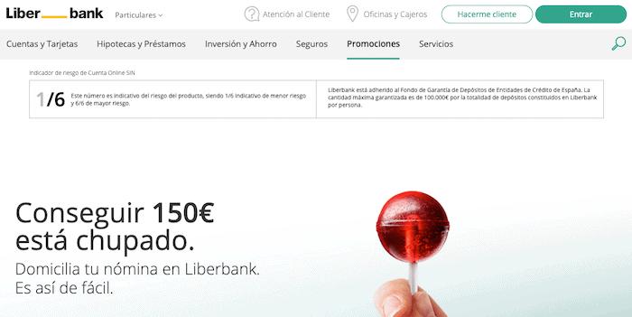 Promoción de la nómina Liberbank