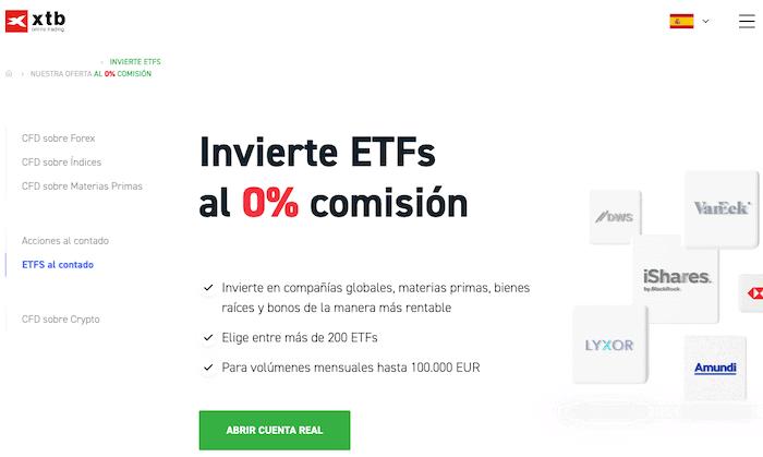 XTB adquiere ETFs
