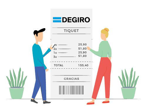 Comisiones y tarifas de DEGIRO